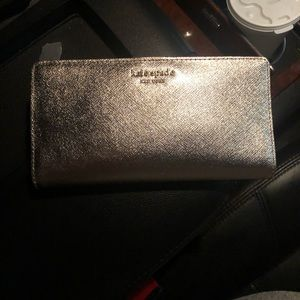 Rose Gold Kate Spade Wallet
